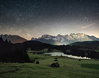 Geroldsee at Midnight
