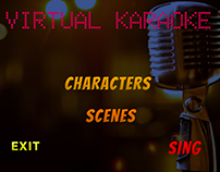 Virtual Karaoke ( Unity UI + MoCap)