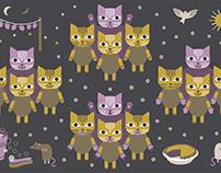 Kittens in Mittens illustration
