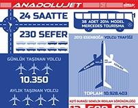 Anadolu Jet İnfografik
