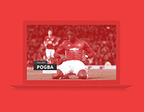 Manchester United | Website Concept