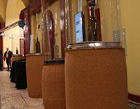 Expositores de Saca-rolhas, para exposições itinerantes