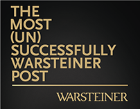 Warsteiner - The most (un)successfully post