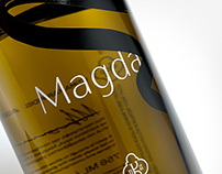 Magda wine packaging
