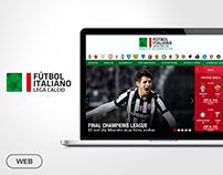 Website Design - Fútbol Italiano