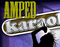AMPED / Boston Pizza Karaoke Posters