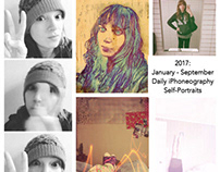 2017: Jan-Sept Daily iPhone Self-Portraits