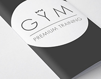 Branding Design GYM | Premium Training