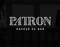 Patron Kávézó & Bár Logo