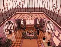 The Grand Budapest Interior Design