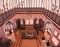 The Grand Budapest Interior Design