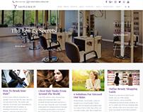 Blog Full-Width - Salon WordPress Theme