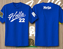 Blue Hella 22 Shirt