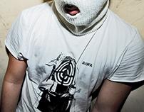 A I W A // t-shirt, cover artwork, poster set