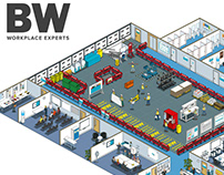 BW: Workplace Experts Site Set-up Guide Illustration