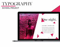 Typography - Concept Design