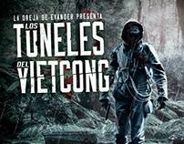 """Diseño Disco """"Los Túneles del Vietcong"""" L.O.D.E."""