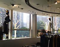 Window dressing/Оформление витрин