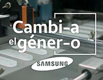 Cambia el género - Samsung