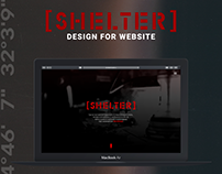 SHELTER [WEBSITE DESIGN]