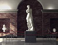 Aphrodite in Louvre