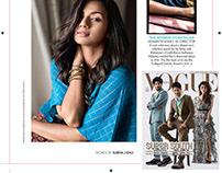 Sruthi Hariharan Vogue India Oct 2019