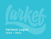 Various Logos 2010 – 2012