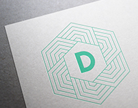 Brochure and symbol for Djörfung
