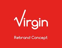 Virgin Logo & Rebrand Concept