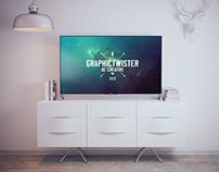 Sony 4K TV Mockup