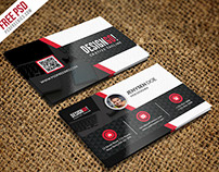 Free PSD : Creative and Modern Business Card Template