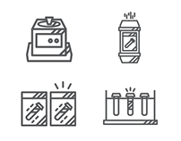 Drucker Diagnostics Icon Illustration