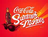 Coca-Cola Summer Movies logo