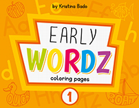 Early Wordz coloring pages