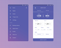 Flight Booking UI & UX
