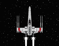 Infographic: T65 X-Wing Starfighter
