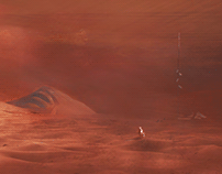 Through the Dust of a Red Planet