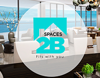 Spaces2B Logotipo