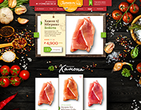 Online Store of Spanish Jamon