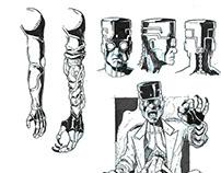 DR. Mokta Character Design