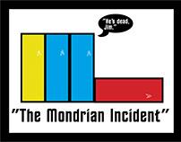 Mondrian-Style Star Trek Graphic