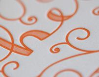 Letterpress 'Hey' Cards