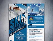 Poster / Flyer - Ski & Snowboard Package