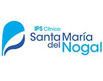Graphic Identity IPS Clínica Santa María del Nogal