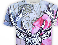 Stag shirt for sale