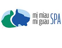 Identidad Gráfica-Spa Mascotas