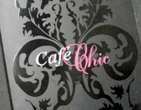 Menu / Carte cocktails : Café-chic