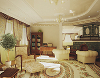 Villa interior in Tyumen, Russia 2007