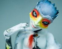 Bad Bird (OOAK BJD)