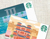 Starbucks Card SG50 Edition concept